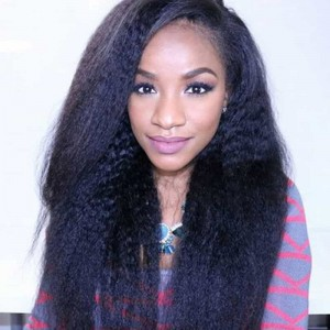 Sokucca 3 Bundles Kinky Straight Cuticle Aligned Mink Brazilian Hair