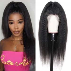 Sokucca Kinky Straight 5x5 Invisible Lace Closure Wig Best Selling