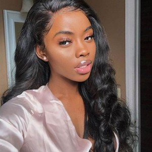 Sokucca Malaysian Body Wave 4 Bundle Deals With Transparent Frontal Remy Hair