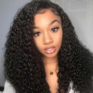 Sokucca Ear To Ear 13X4 Transparent Frontal With 3 Bundles Malaysian Kinky Curly Hair