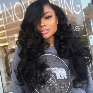 Sokucca Loose Wave 5x5 Lace Closure Wig With Baby Hair