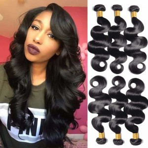 Sokucca Youth Series Indian Hair Weave Body Wave 3 Bundles 8-28 Inch