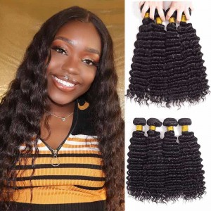 Sokucca 4 Bundles Malaysian Deep Wave Hair For Cheap With Fast Shipping