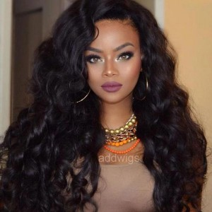 Sokucca Loose Wave 150% Density 13x4 Frontal Lace Wig With Baby Hair