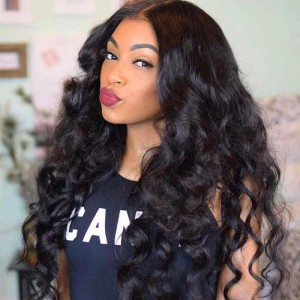 Sokucca Loose Wave Weave 4x4 Lace Closure With Malaysian 4 Bundles Deals